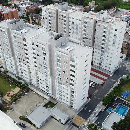 Acabados y pinturas - Complejos de vivienda  Migdal Arquitectos