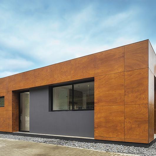 Revestimiento exterior Prodema- ProdEX en Casa mirador del bosque / Hunter Douglas