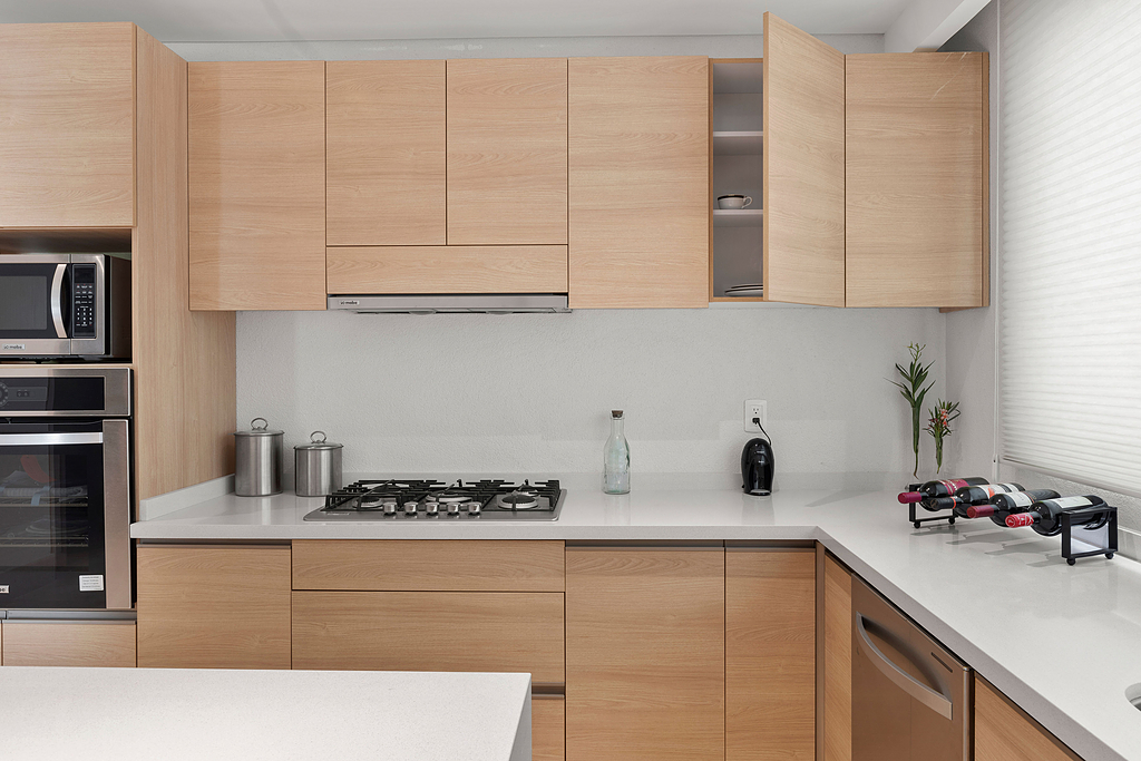 Tableros de melamina en conjunto residencial Cobalto 66