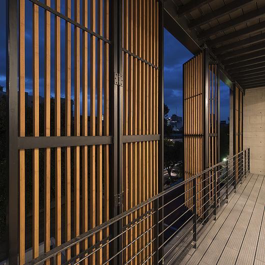 Listones de madera Moso N-finity / Hunter Douglas
