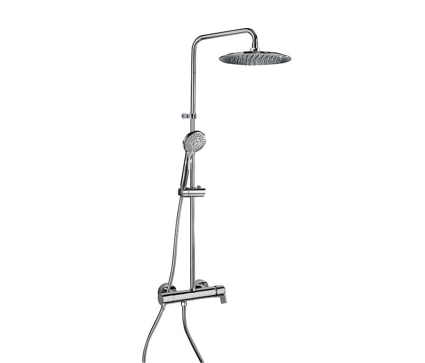 Conjunto de ducha de columna fija - Blautherm