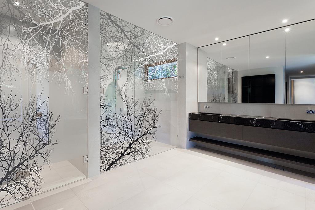 Impresión digital en cristal en interior