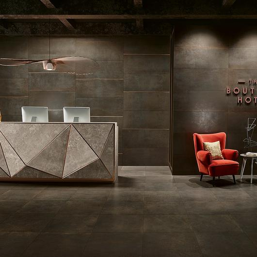 Glazed Porcelain and Single Fired Wall Tiles - Metallic / Love Tiles