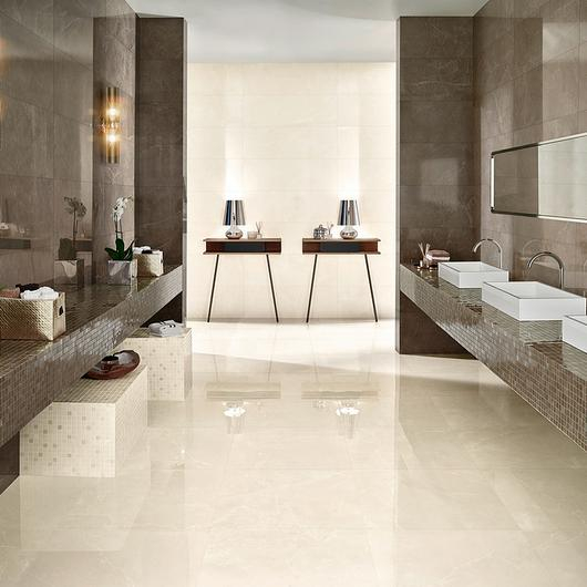 Glazed Porcelain and Single Fired Wall Tiles - Marble / Love Tiles