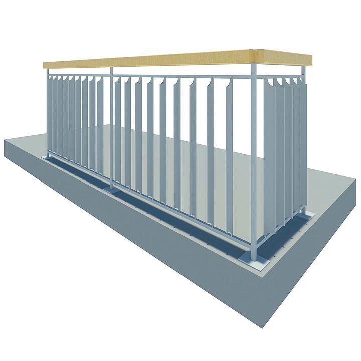 Baranda metálica - Habitacional 2.0