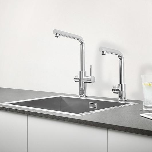Sink Mixer - Blue Pro L-Spout