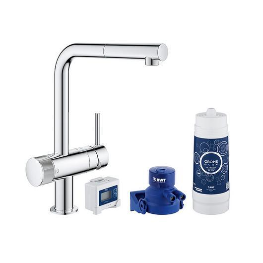 Sink Mixer Starter Kit - Blue Pure Minta