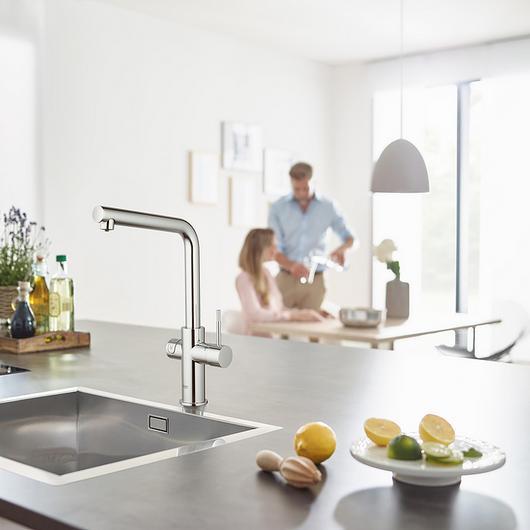 Sink Mixer - Blue Home L-Spout