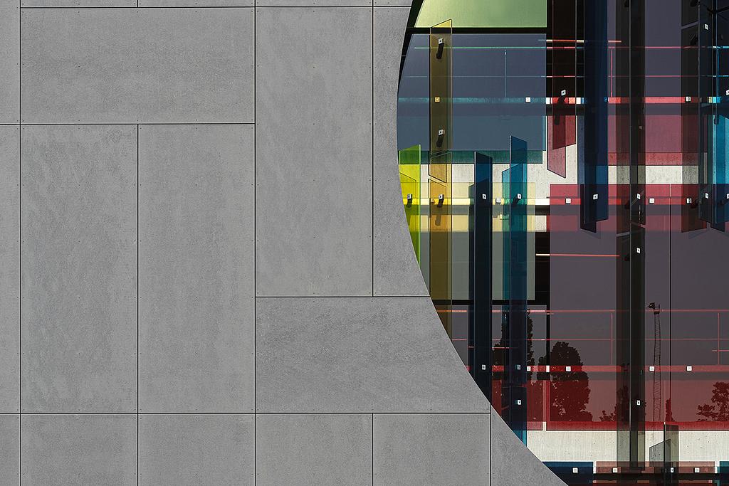 Panel de fibrocemento coloreado en masa - Lunara