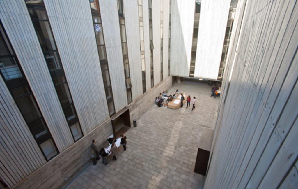 Obra Edificio Escuela de Diseño PUC