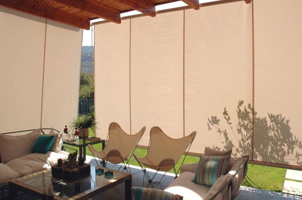 Toldos verticales de flexalum for Toldos verticales para terrazas