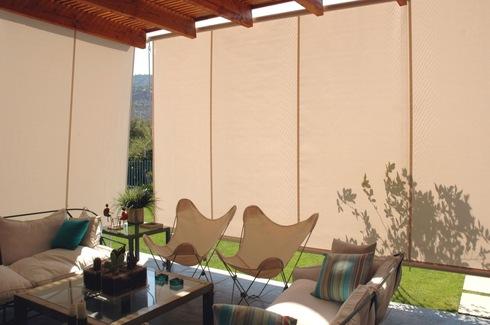 Toldos verticales de flexalum - Estores para balcones ...