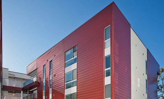 Metal Wall Amp Roof Systems Concealed Fastner From Morin Corp