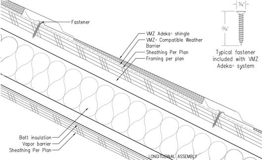 Longitudinal Assembly Detail