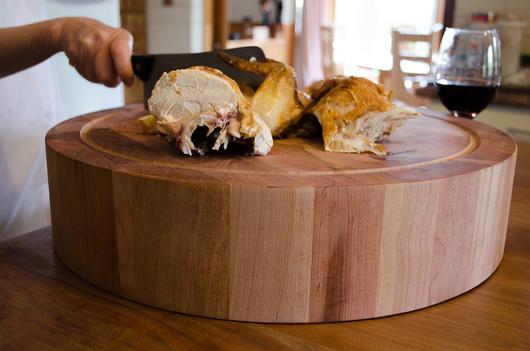 Accesorios de cocina de madera de lenga de ignisterra - Como hacer una tabla para picar de madera ...