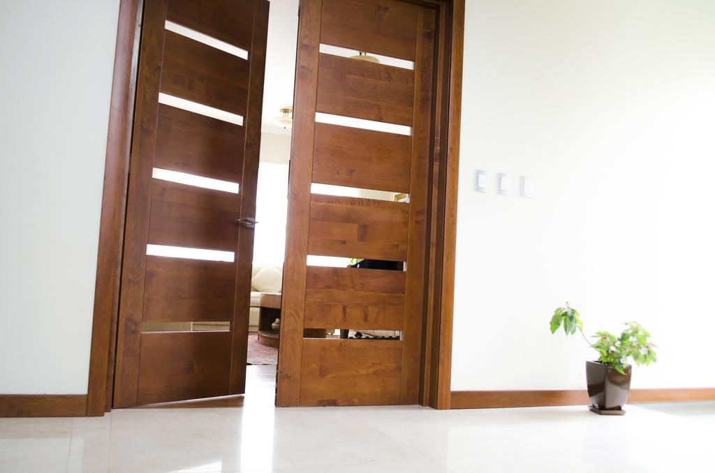 Puertas de madera sólida - Modernas de Ignisterra