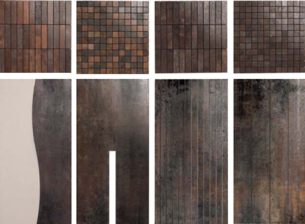 Gallery of Floor Tiles - Metal - 6