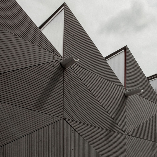 Architectural Cement Board : Facade panel linea from equitone