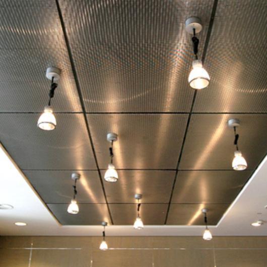 Metal Fabric Ceilings - Ellipse 52