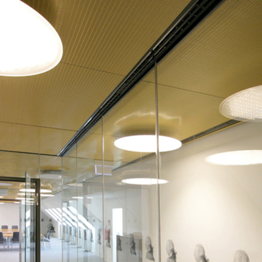 Metal Fabric Ceilings - Omega 216