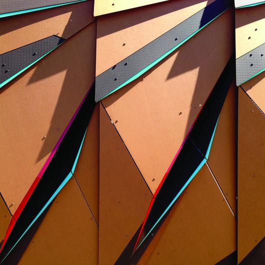 Paper Composite Siding - Richlite Rainshadow