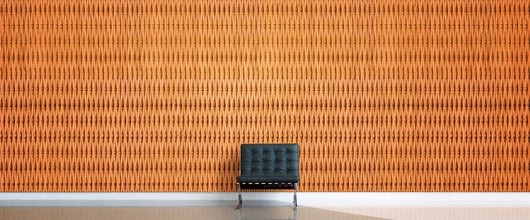 Bamboo wall panels plyboo 39 s reveal line from intectural - Woven wood wall panels ...