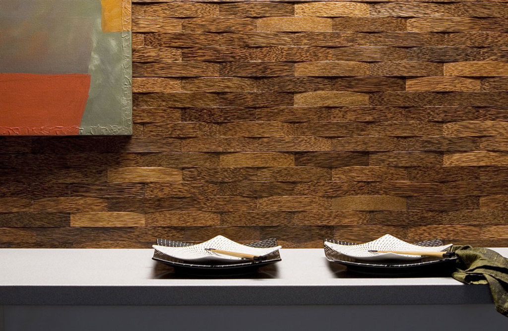 Wooden Wall Panels - Plyboo Durapalm Woven Palms