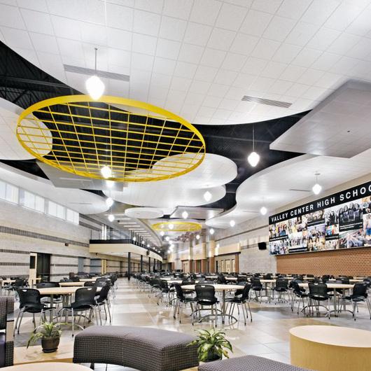 Ceramaguard y Ceramaguard Fine Fissured Sistemas de Plafón / Armstrong Ceilings