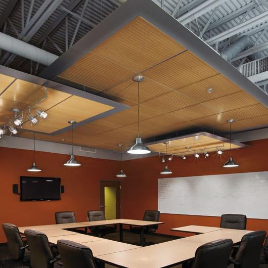 WoodWorks® Channeled Sistema de Plafón