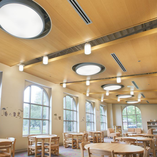Sistema de Plafón WoodWorks® Acanalado