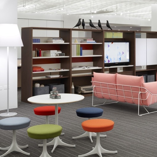 Canvas Office Landscape - Sistema de Mobiliario / Herman Miller