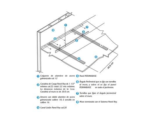 Gu a de instalaci n de panel de cemento permabase de panel rey for En que se utiliza el marmol