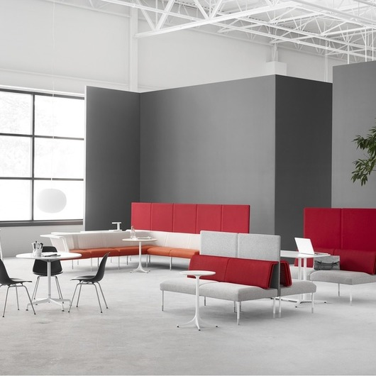 Public Office Landscape - Sistema de Mobiliario / Herman Miller