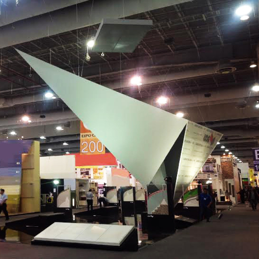 Paneles de Yeso USG en Stand Expo CIHAC 2014