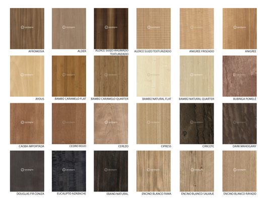 Wood Veneers Natural Wood Veneers From Verolegno