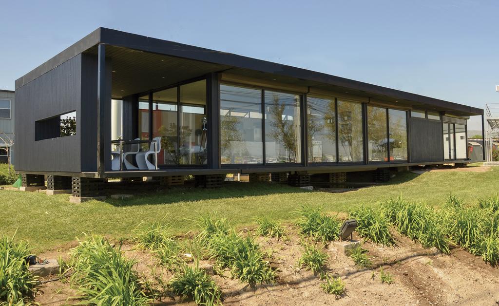 Casa modular tfh 05 de tecno fast - Casa modular acero ...