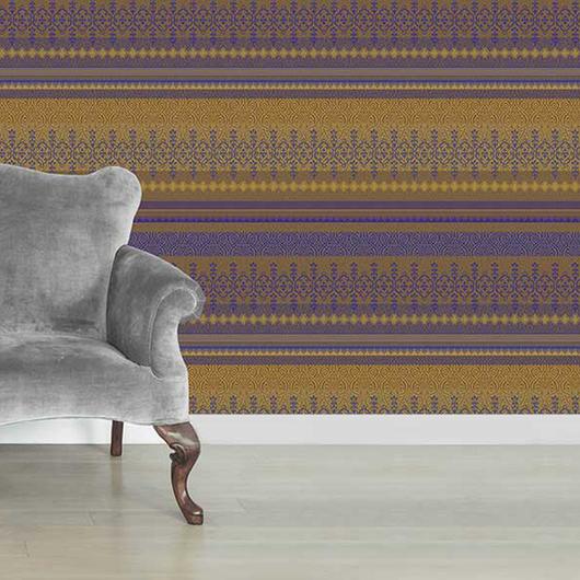 Papeles Murales con Diseño - Colección Maroccan Chic / Carpenter
