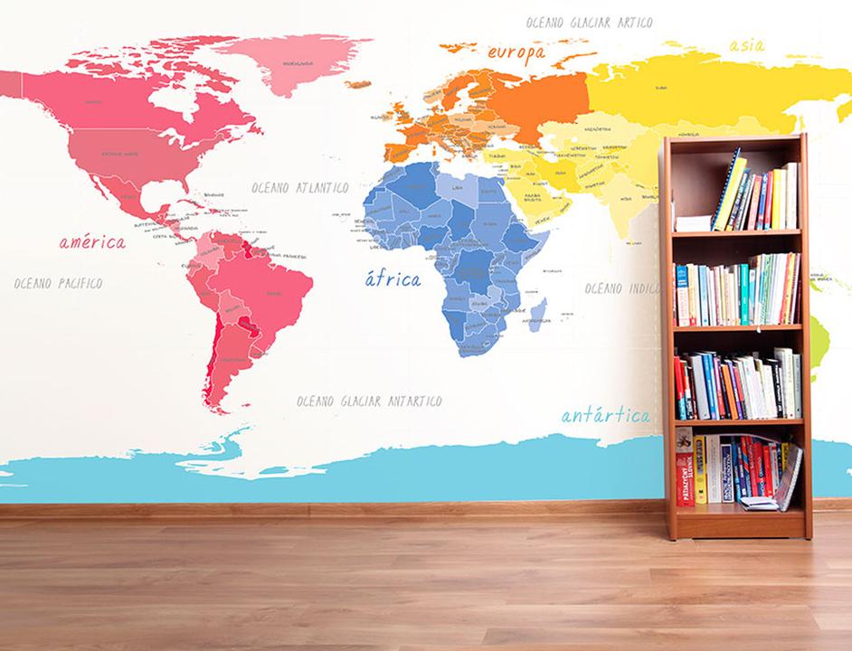 Papeles murales con dise os infantiles de carpenter Papeles murales con diseno de paisajes
