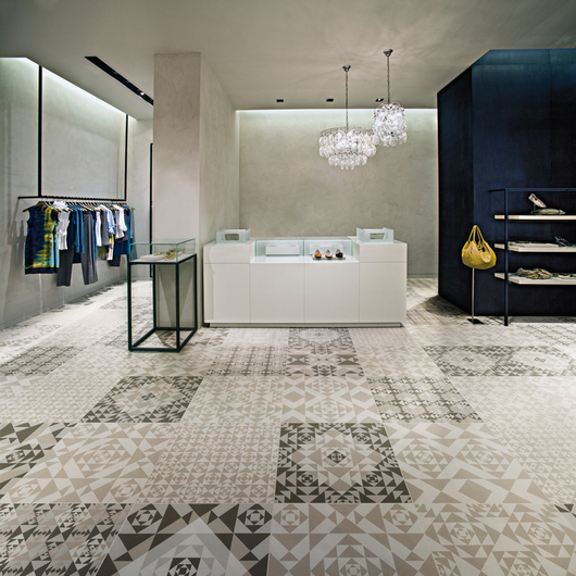 Porcelain Tiles - Frame Carpet Collection / Ceramiche Refin