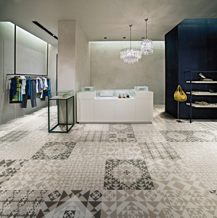 Porcelain Tiles - Frame Carpet Collection