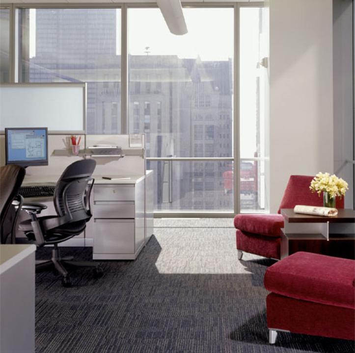 Carpetes Modulares Corporativos