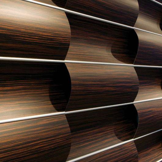Revestimiento Decorativo Wave Wall de 3form