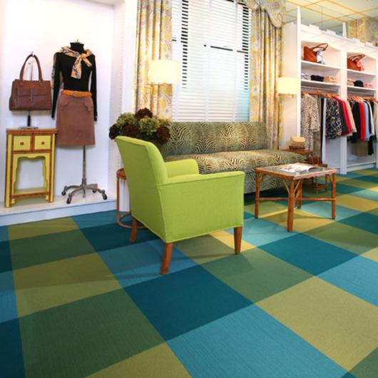 Carpetes Modulares Retail