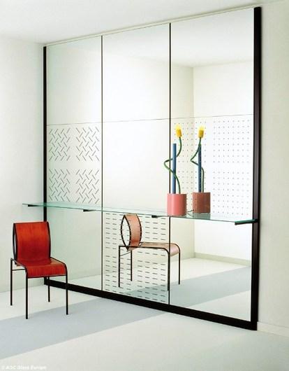 Aplicação de como MIROX Premium® espelho decorativo.