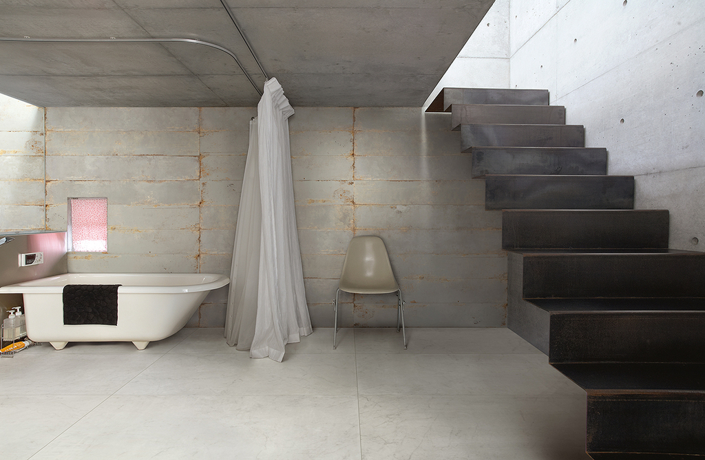 Porcelain Tiles District Garage Collection From