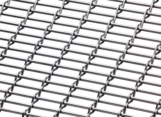 M12Z-17 Woven Wire Mesh in Stainless