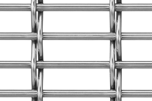 M12Z-17 Architectural Wire Mesh in Stainless
