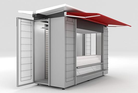 Quioscos de bkt mobiliario urbano for Kioscos prefabricados
