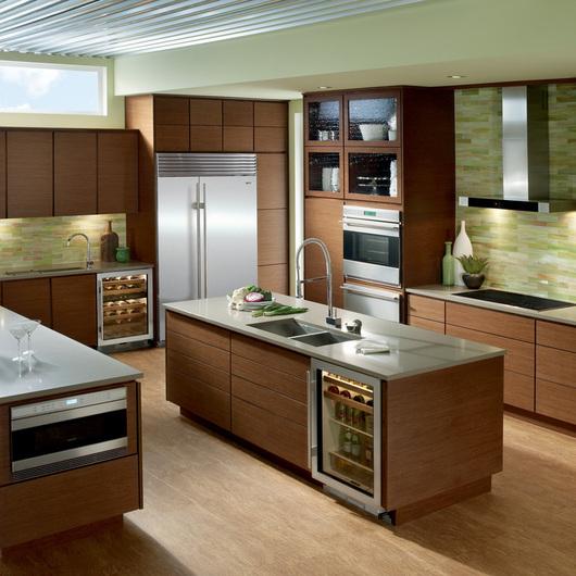 Refrigerador side by side empotrable sub zero de top kitchen - Cocinas wolf ...