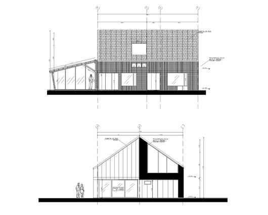 Fachadas de la vivienda de la Casa La Vega.